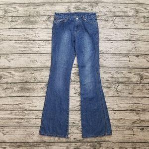 7 For All Mankind Embellished A Pocket Flare Jeans